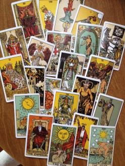 Messages from the Tarot Major Arcana - part 1