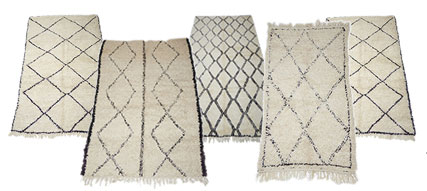 Collection Of Berber Rugs