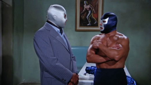Damn Santo, offer Demon your jacket! Can't you see he's cold?!