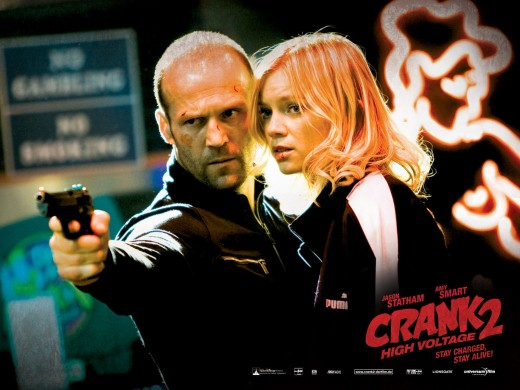 "Promotional poster for ""Crank: High Voltage"""