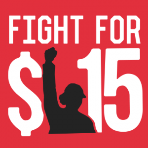 $15.00 is the current target price for minimum wage advocates