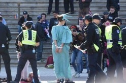 400 Arrested in DC Protests Calling for