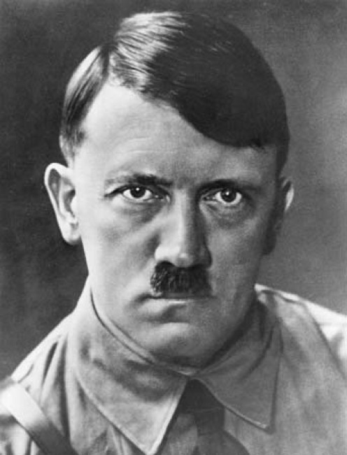 "Here he is, ""Mr. Evil,"" Adolf Hitler."