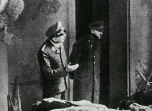 Last photo of Hitler taken April 30, 1945. My advice to him: Stay in your hole!