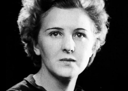 Eva Braun, the love of Hitler's life although it was only for 40 hours.