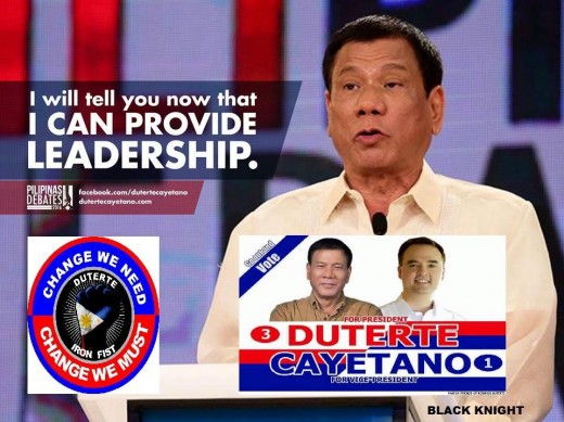 Duterte's Assertion