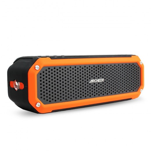 Portable speakers are available in various shapes and sizes on the market these days