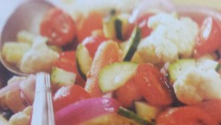 The Ancient Summertime Vegetable Salad Recipe