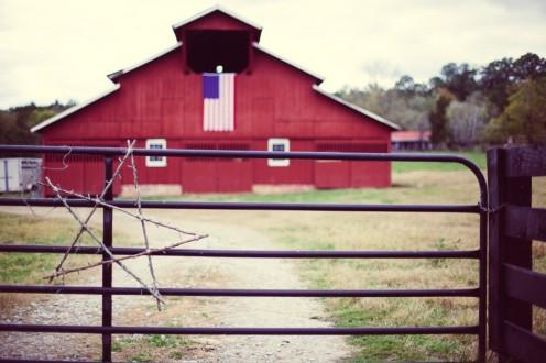 """Through this gate lies a """"Farmer's Paradise."""""""