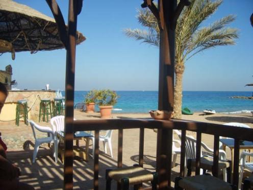 North African beach bar