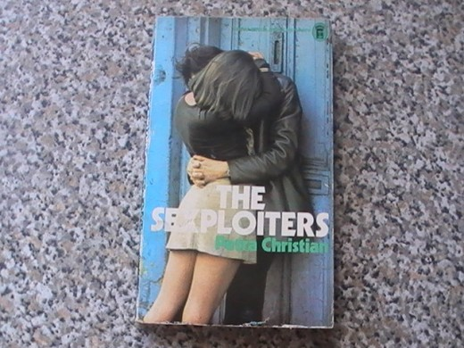 A typical sexploitation paperback from the 1970s UK.