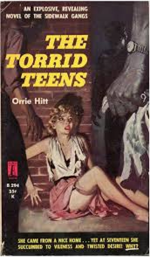 A typical suggestive pulp cover.