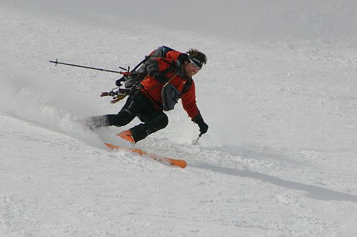 All heli skiers are fully prepared for all conditions