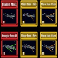 Star Trek Trexels Skirmish Attack Cards