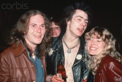 "Sid Vicious and fans appear to have ""bent their elbows"" a bit."