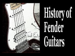 A Brief History of Fender Electric Guitars