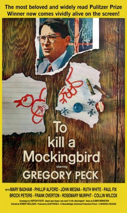 """Poster for """"To Kill A Mockingbird"""""""