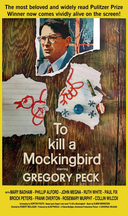 "Poster for ""To Kill A Mockingbird"""