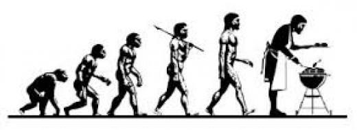 Man's evolution of grilling
