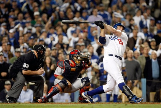 Jim Thome spent less time with the Los Angeles Dodgers than with any other team, but he never once got cheated on a swing.