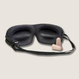 combination of sleep mask with ear plug is an excellent way to fall asleep