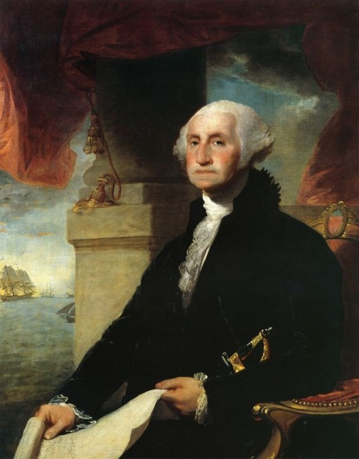George Washingtons portrait