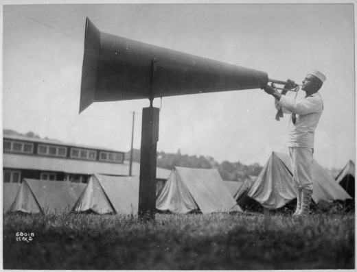 Using active voice in your writing is almost as effective as using a bullhorn.