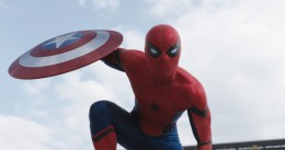 Spider-Man, played by Tom Holland