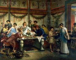 A Roman Feast.