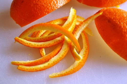 Orange Peel Mask for Acne