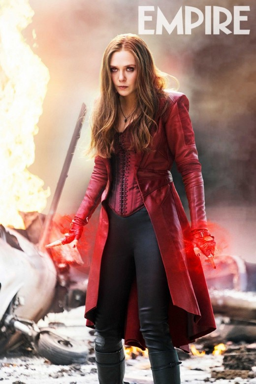 Elizabeth Olsen as the Scarlet Witch