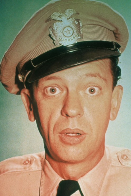 The late Don Knotts made a lucrative living playing cowardly roles.
