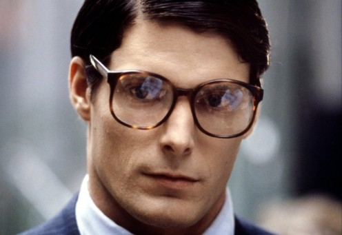 "The late Christopher Reeve did a great job of portraying ""Clark Kent,"" Superman's ""cowardly"" secret identity."