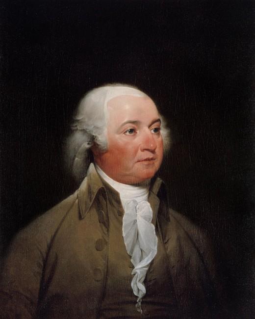 Portrait of John Adam