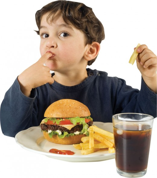 Fast food is harmful for kids of all ages