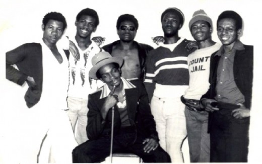 UK Reggae Group Misty In Roots (With Lead Singer Bongo Danny (Front)