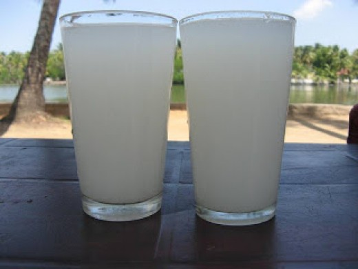 TODDY IN GLASS