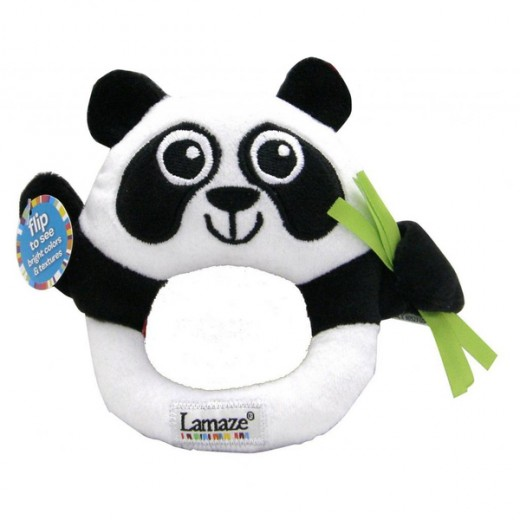 Lamaze High-Contrast Panda Rattle