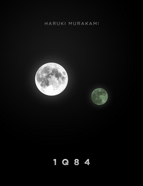 Murakami's weird world of 1Q84 includes a sky with two moons.