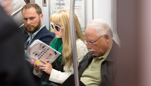 Can 1Q84 keep you awake on the plane, or on the train?