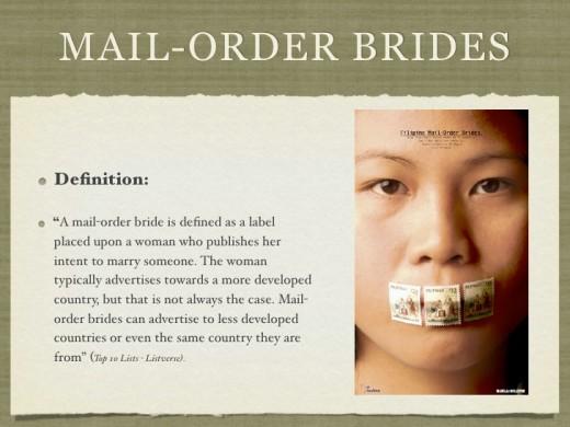 mail order bride what reason divorce