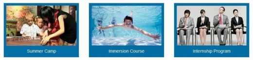 Hanbridge also offers a variety of special programs including Immersion Courses, Summer Camps, and Internships.