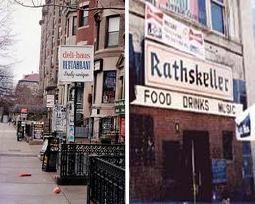 "both gone now, ""The Rat"" was just around the corner from the deli."