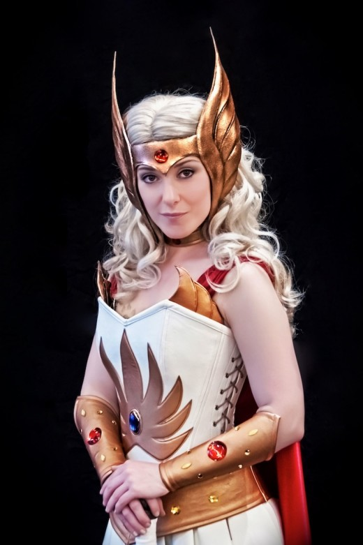Look over many different pictures to find the ideas you need to craft your own homemade She-Ra costume this year.
