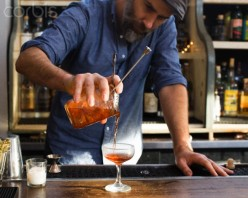 When served at the bar, be very complimentary of the bartender's skills of mixing drinks. This will pay you dividends in the long run.