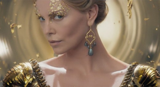 Charlize Theron comes back, and she continues to gobble up every scene she touches
