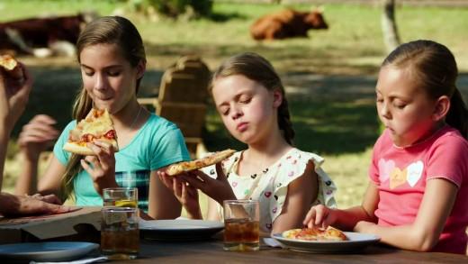 HEY!  Where's my slice of pizza?  :(