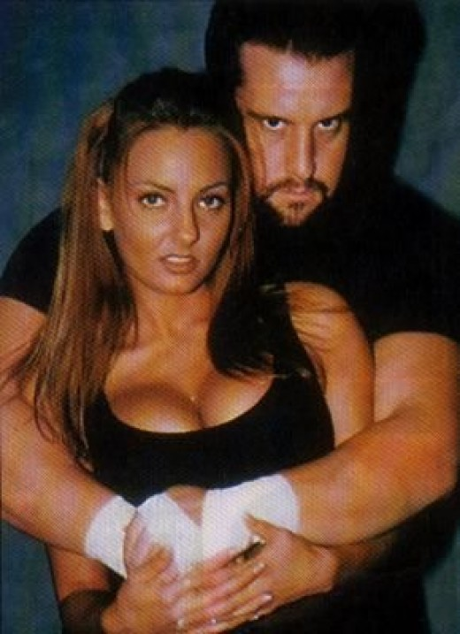 Tommy Dreamer with Beulah.