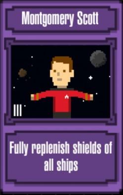 Star Trek Trexels Skirmish Officers