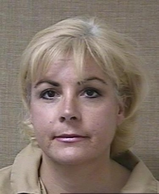 Michelle Theer at the time of her arrest
